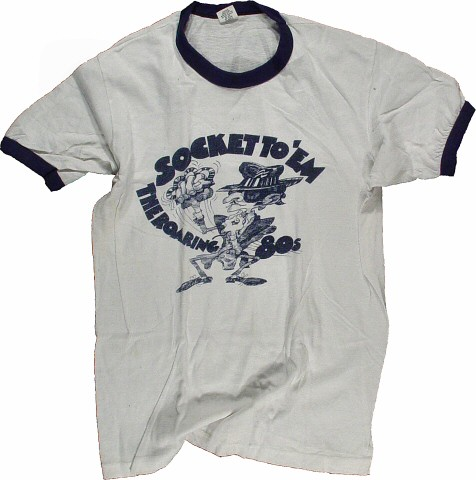 Sock It To 'Em…The Roaring '80's Men's Vintage T-Shirt