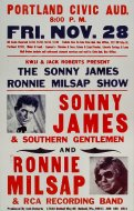 Sonny James & Southern Gentlemen Poster