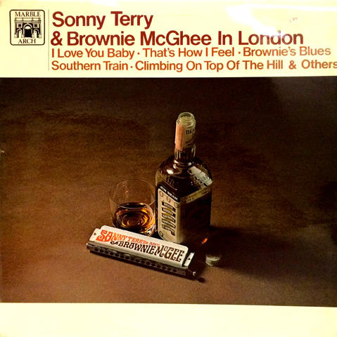 Sonny Terry Vinyl (Used)