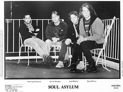 Soul Asylum Promo Print
