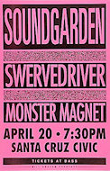 Soundgarden Poster