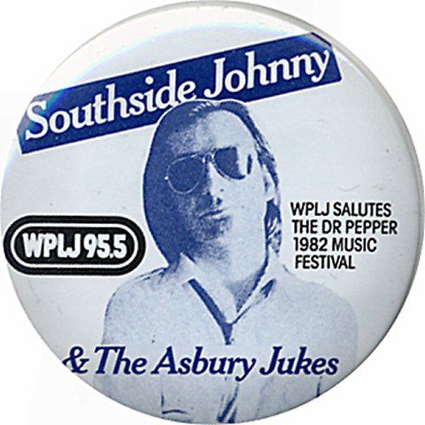 Southside Johnny & the Asbury Jukes Vintage Pin
