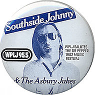 Southside Johnny &amp; the Asbury Jukes Vintage Pin