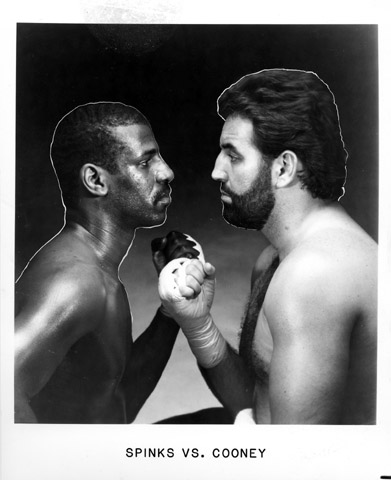 Spinks vs. Cooney Promo Print