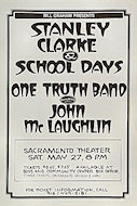 Stanley Clarke &amp; School Days Poster
