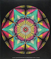 Star Mandala Poster