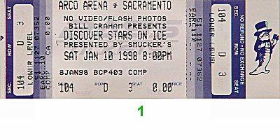 Stars on Ice1990s Ticket
