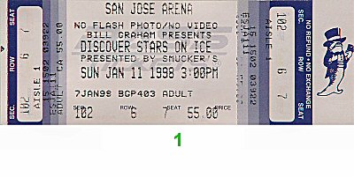 Stars on Ice1990s Ticket