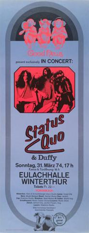 Status Quo Poster