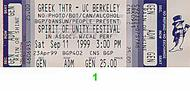 Steel Pulse 1990s Ticket