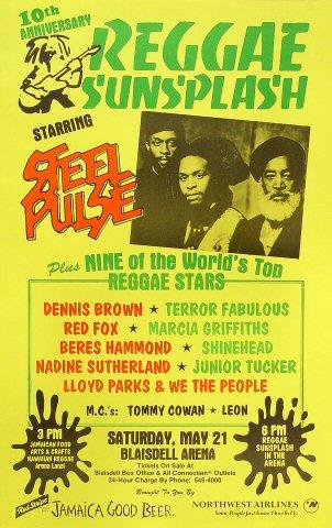 Steel Pulse Poster