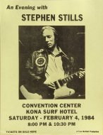 Stephen Stills Handbill