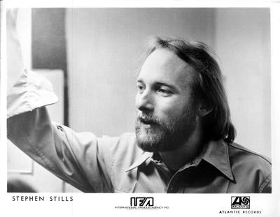 Stephen Stills Promo Print