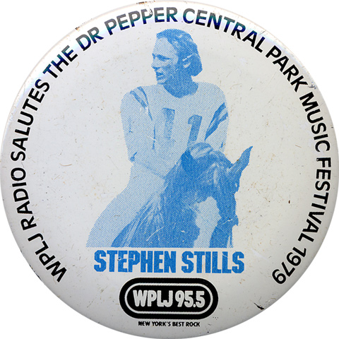 Stephen Stills Vintage Pin