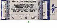 Pat Travers 1990s Ticket