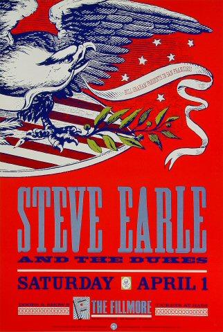 Steve Earle &amp; the Dukes Poster