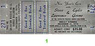 Steve Lawrence 1970s Ticket