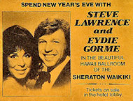 Steve Lawrence Handbill