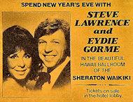 Steve Lawrence Handbill