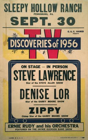 Steve Lawrence Poster