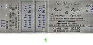 Steve Lawrence Vintage Ticket