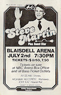 Steve Martin Handbill