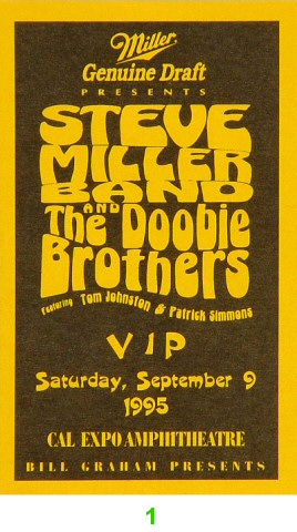 Steve Miller Band Laminate