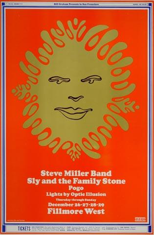 Sly & the Family Stone Postcard