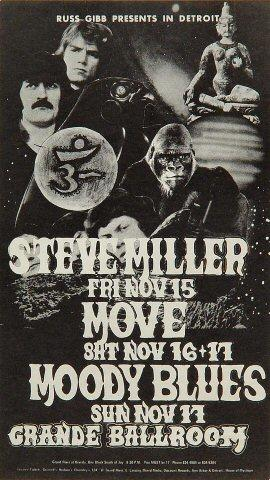 Steve Miller Band Postcard