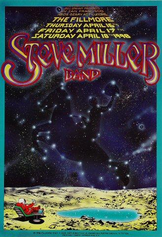 Steve Miller Band Poster