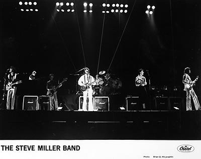 Steve Miller BandPromo Print