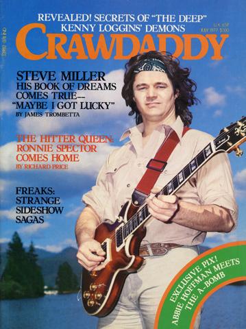 Steve MillerCrawdaddy Magazine