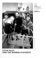 Steve Riley & the Mamou Playboys Promo Print