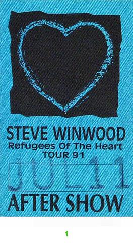 Steve Winwood Backstage Pass