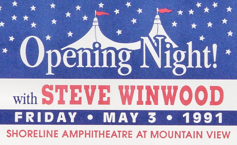 Steve Winwood Laminate