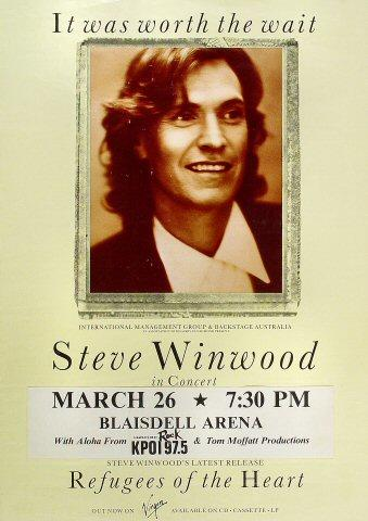 Steve Winwood Poster