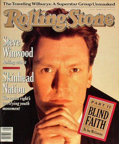 Steve WinwoodRolling Stone Magazine