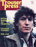 Steve Winwood Trouser Press Magazine