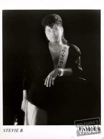 Stevie B Promo Print