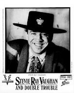 Stevie Ray Vaughan &amp; Double Trouble Promo Print