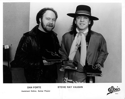 Stevie Ray VaughanPromo Print