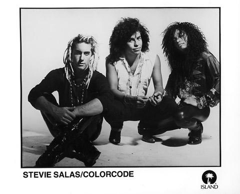 Stevie Salas Promo Print