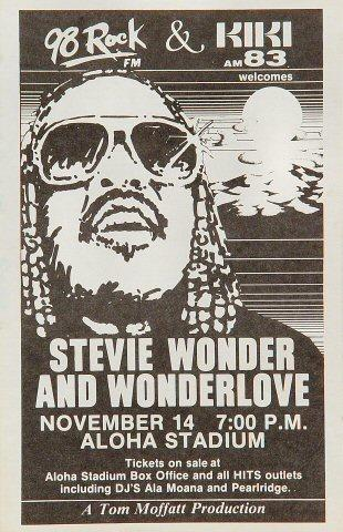 Stevie Wonder Handbill