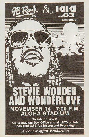 Stevie Wonder Handbill