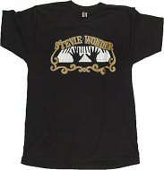 Stevie Wonder Men's Retro T-Shirt