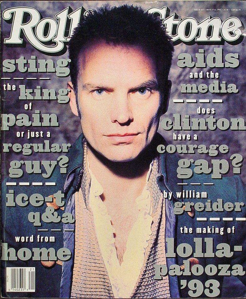 StingRolling Stone Magazine