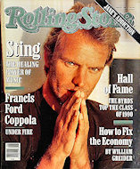 Sting Rolling Stone Magazine
