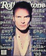 Sting Rolling Stone Magazine