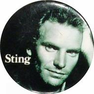 Sting Vintage Pin