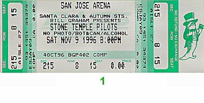 Stone Temple Pilots1990s Ticket